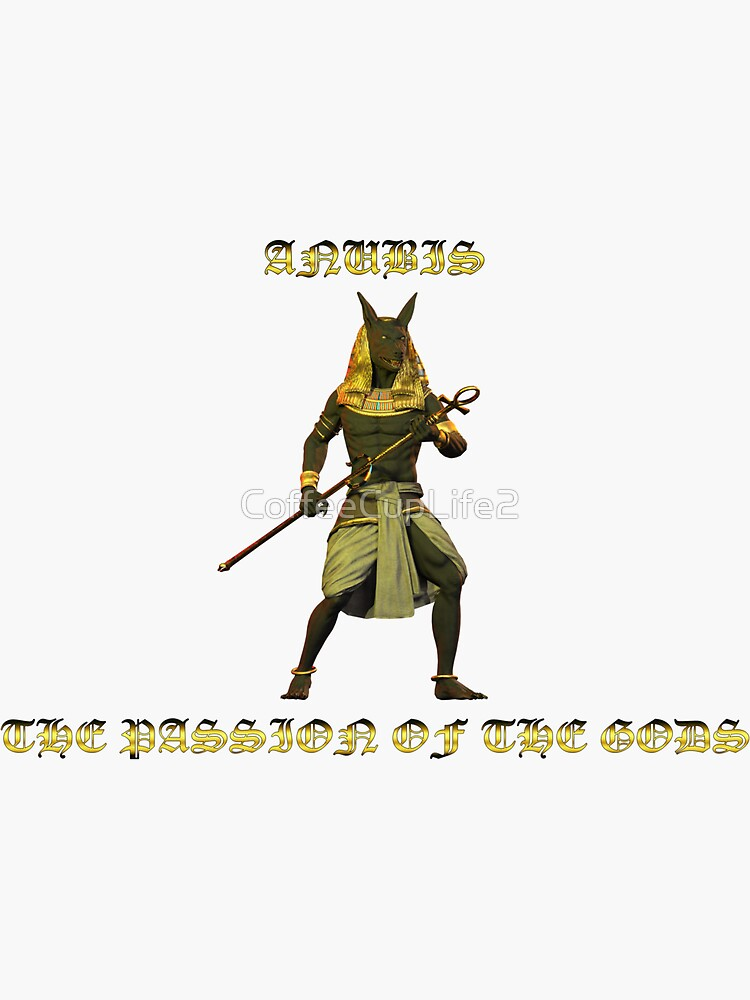 Passion of the Gods: Anubis by CoffeeCupLife2