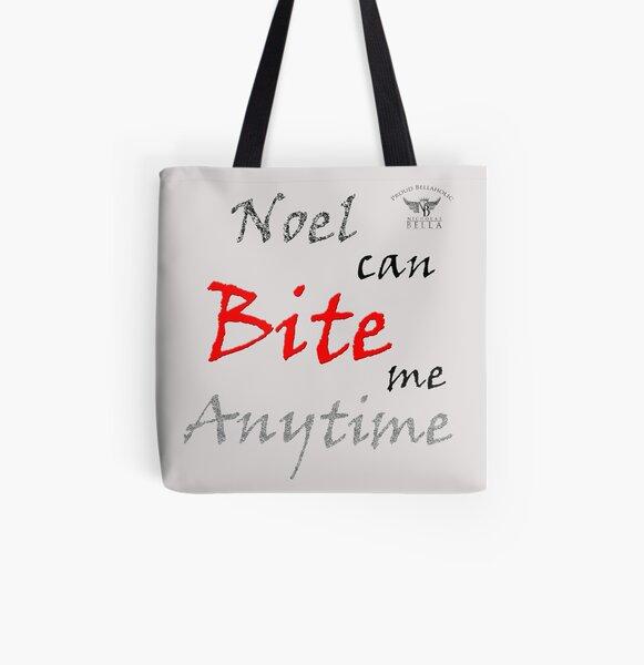 Noel's Bite All Over Print Tote Bag