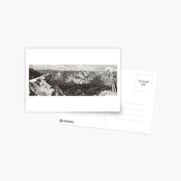 Yosemite Glacier Point Postcard