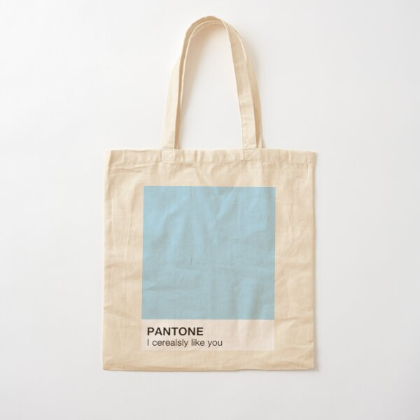 I Cerealsly like you Pantone Cotton Tote Bag