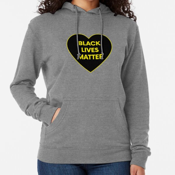BLACK LIVES MATTER HEART Lightweight Hoodie