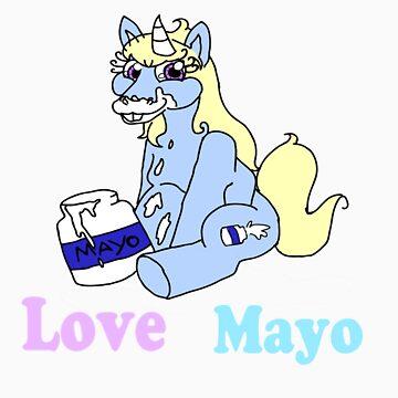 Unicorns Love Mayo by blumascara