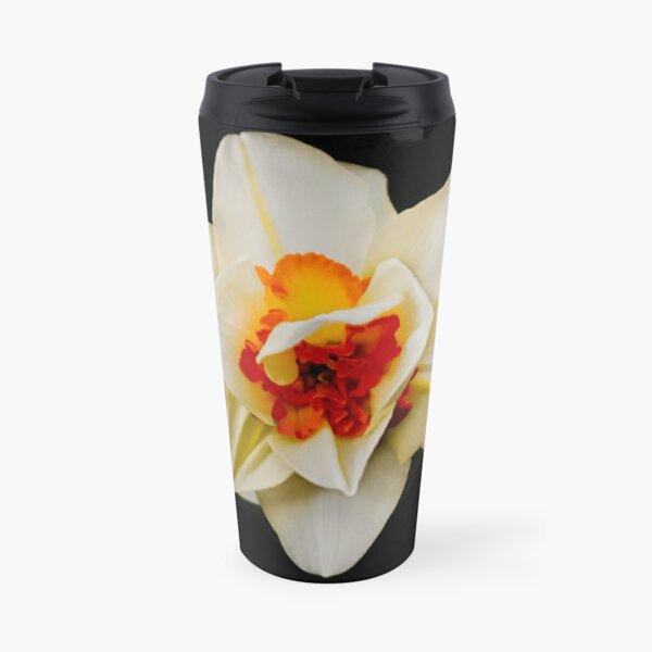 Double Daffodil Photography Travel Mug