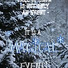 First Snow of  Winter by Paula Tohline  Calhoun