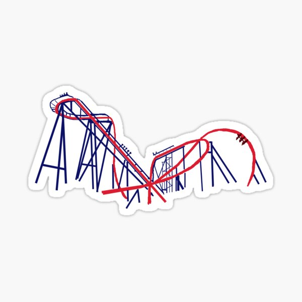 SHEIKRA Busch Gardens outline Sticker