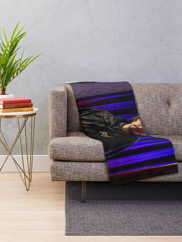Alternate view of fbi goob Throw Blanket