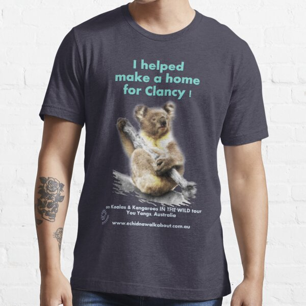 Make a Home for Clancy - dark background Essential T-Shirt
