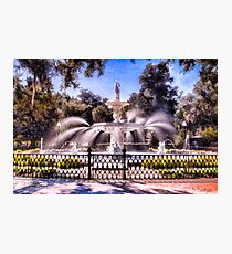 Forsyth Park Fountain Photographic Print