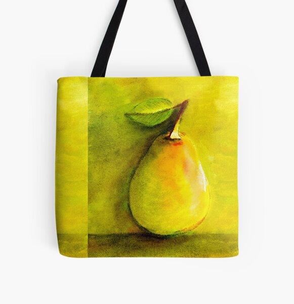 Pear Hugs All Over Print Tote Bag