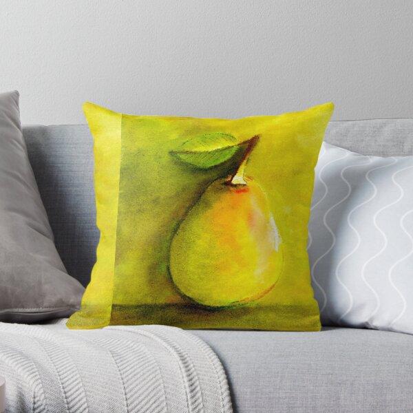 Pear Hugs Throw Pillow