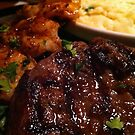 Turf and Surf with Mashed Potatoes by RockyWalley