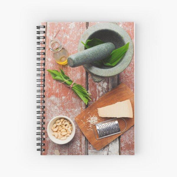 Wild garlic pesto Spiral Notebook