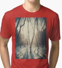 Peaceful Forrest Tri-blend T-Shirt
