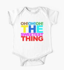 The sweetest thing  Baby Body Kurzarm