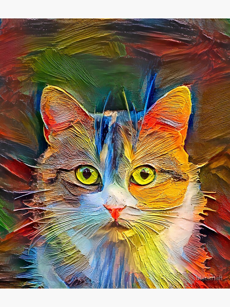 Abstractions of abstract cat by blackhalt
