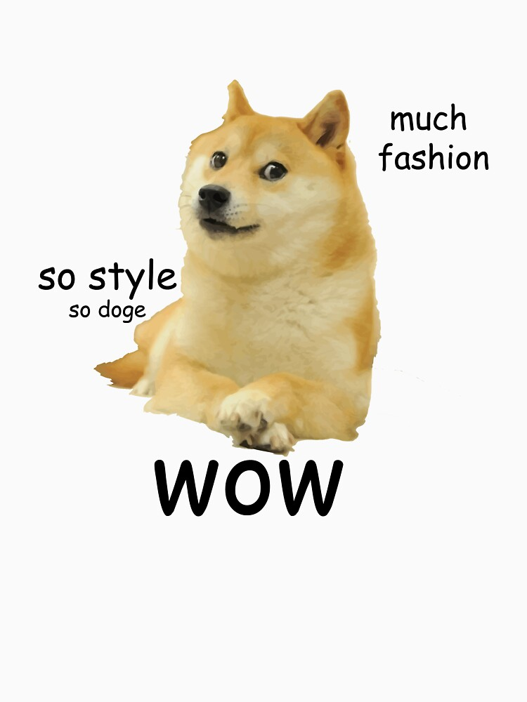 TShirtGifter presents: Doge shirt, wow | Women's T-Shirt
