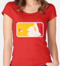 Major League Whack-Bat Women's Fitted Scoop T-Shirt