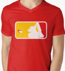Major League Whack-Bat Men's V-Neck T-Shirt