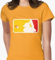Major League Whack-Bat Women's Fitted T-Shirt