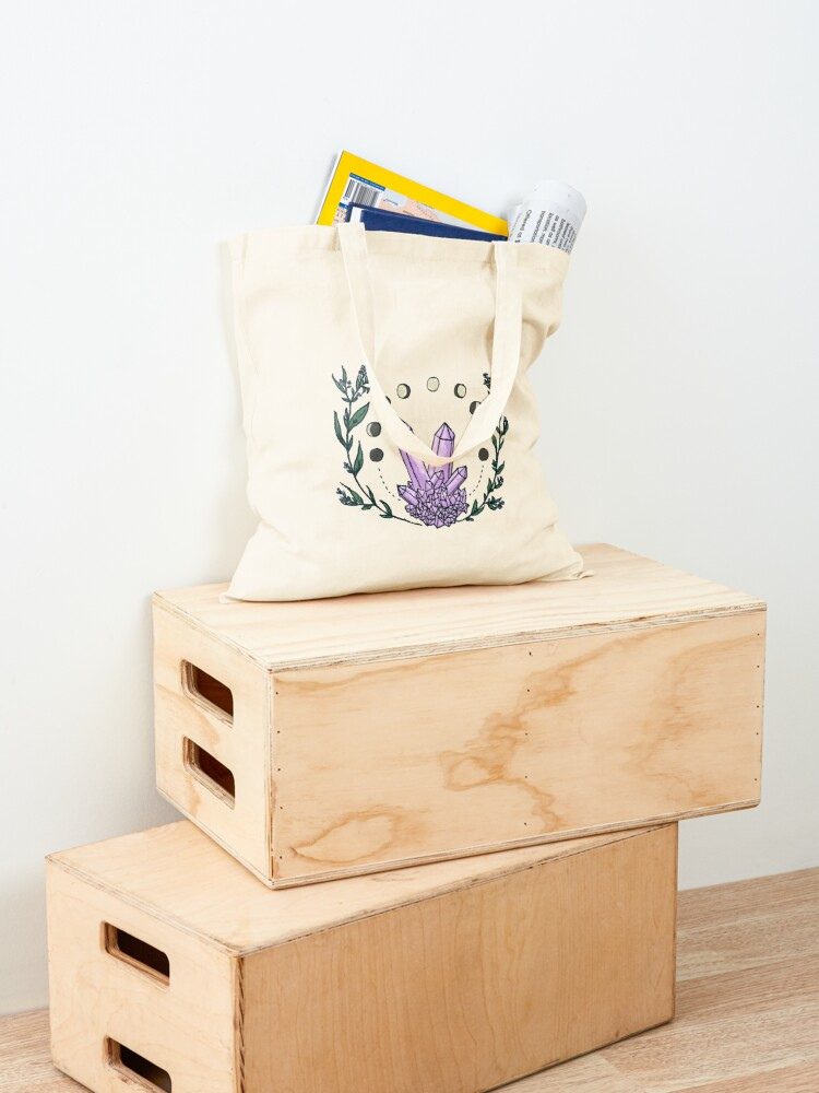 Alternate view of Amethyst Spell Tote Bag
