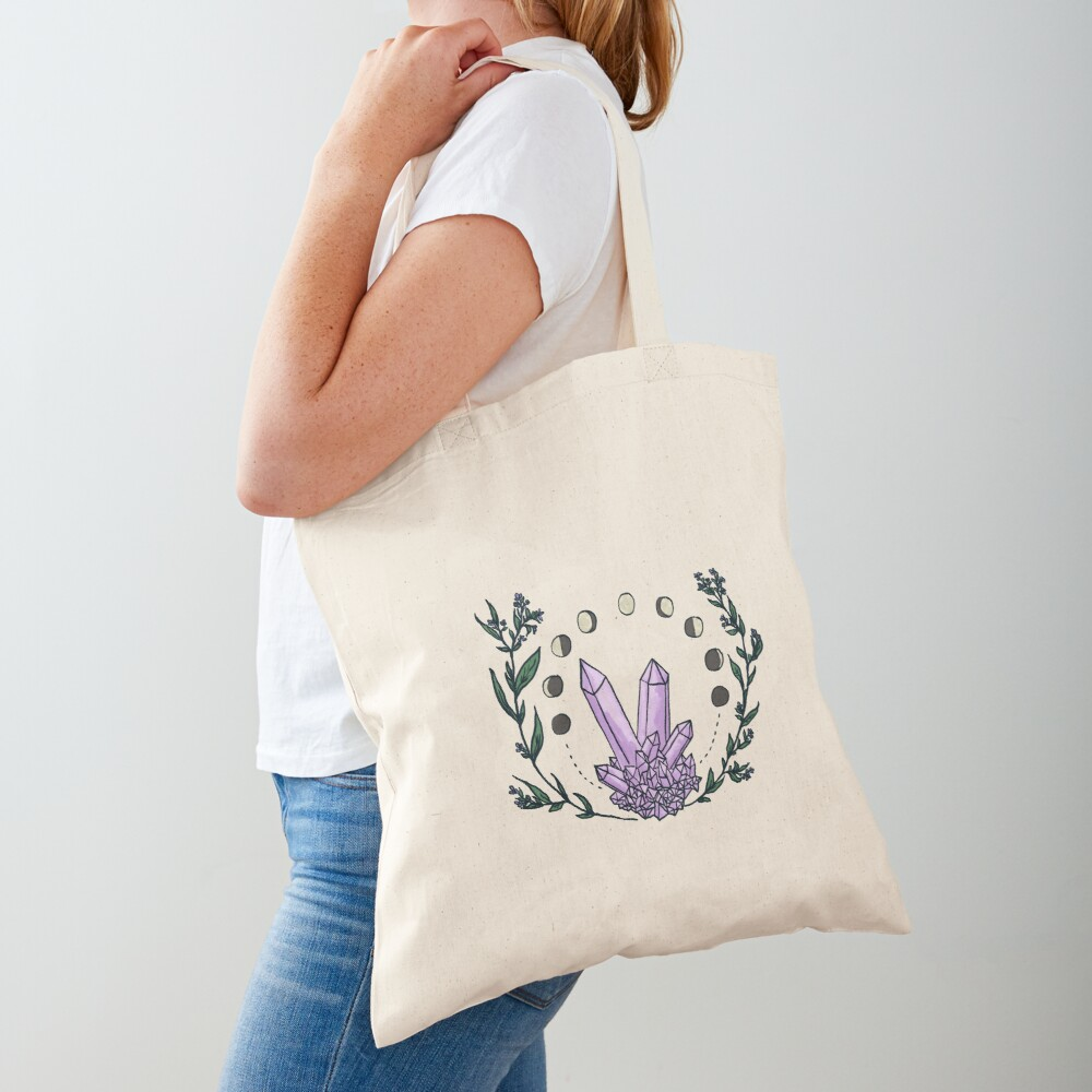 Amethyst Spell Tote Bag