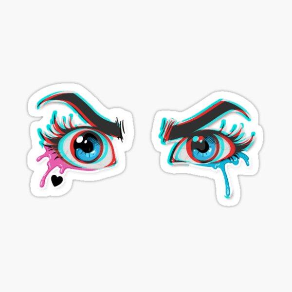 Ojos Harley Pegatina
