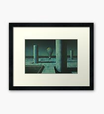 Electric Earth Framed Print