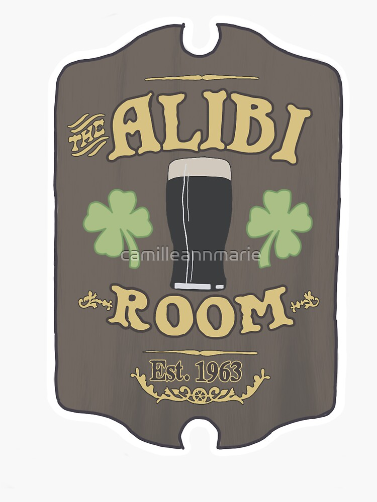 The Alibi Sign by camilleannmarie