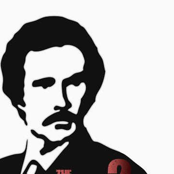 "Anchorman 2: ""The Legend Continues"" T-Shirt by anactofjamie"