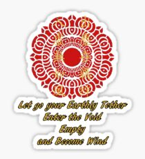 Let Go Your Earthly Tether - The Legend of Korra Sticker