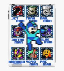 Mega Man NES Nintendo 8-Bit  iPad Case/Skin