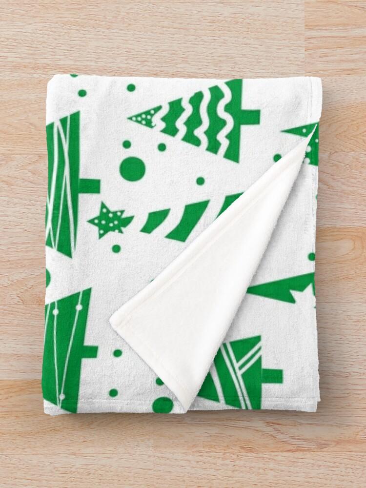 Alternate view of O Christmas Tree  Throw Blanket