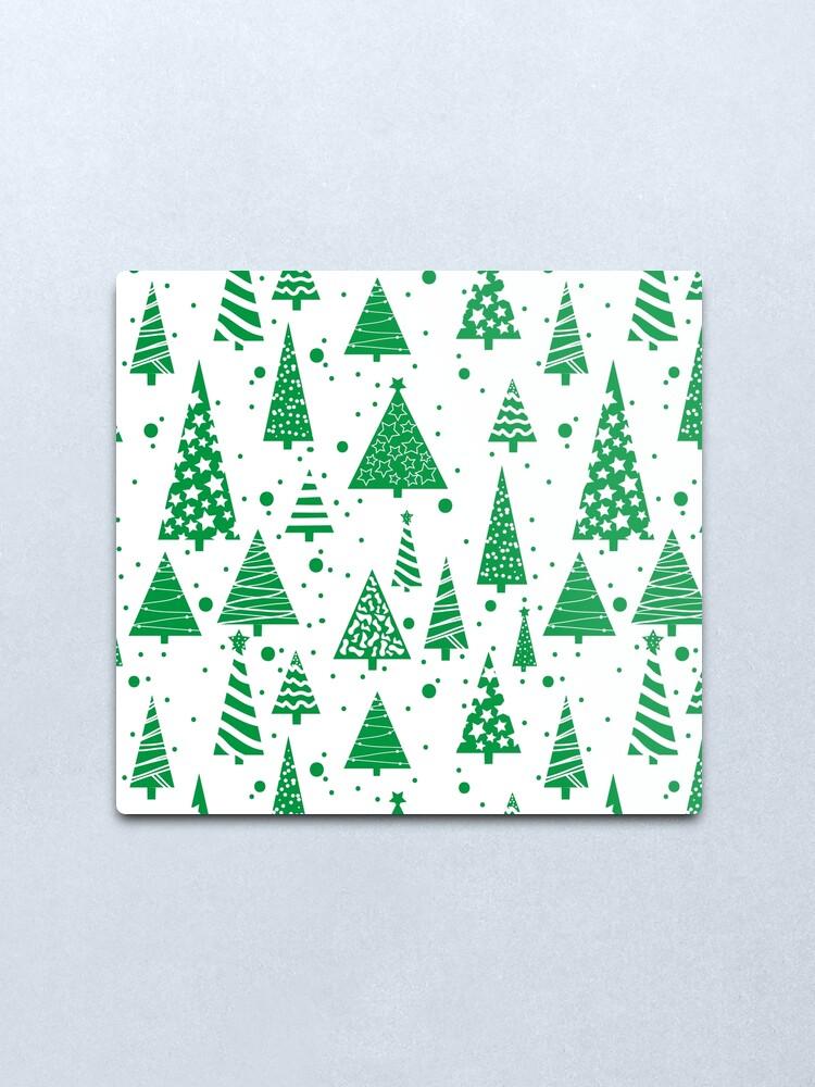 Alternate view of O Christmas Tree  Metal Print