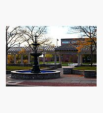54th Regiment Mass. Voluntary Infantry Plaza Photographic Print