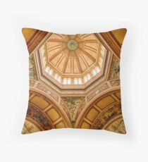 Magestic Architecture II Throw Pillow