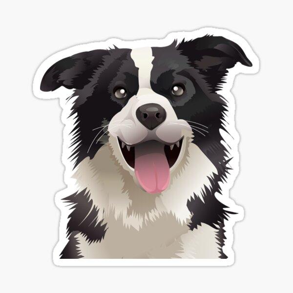 Collie Border Sticker