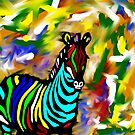 zebra  by parko