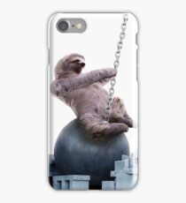 Wrecking Ball Sloth iPhone Case/Skin