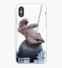 Wrecking Ball Sloth iPhone Case