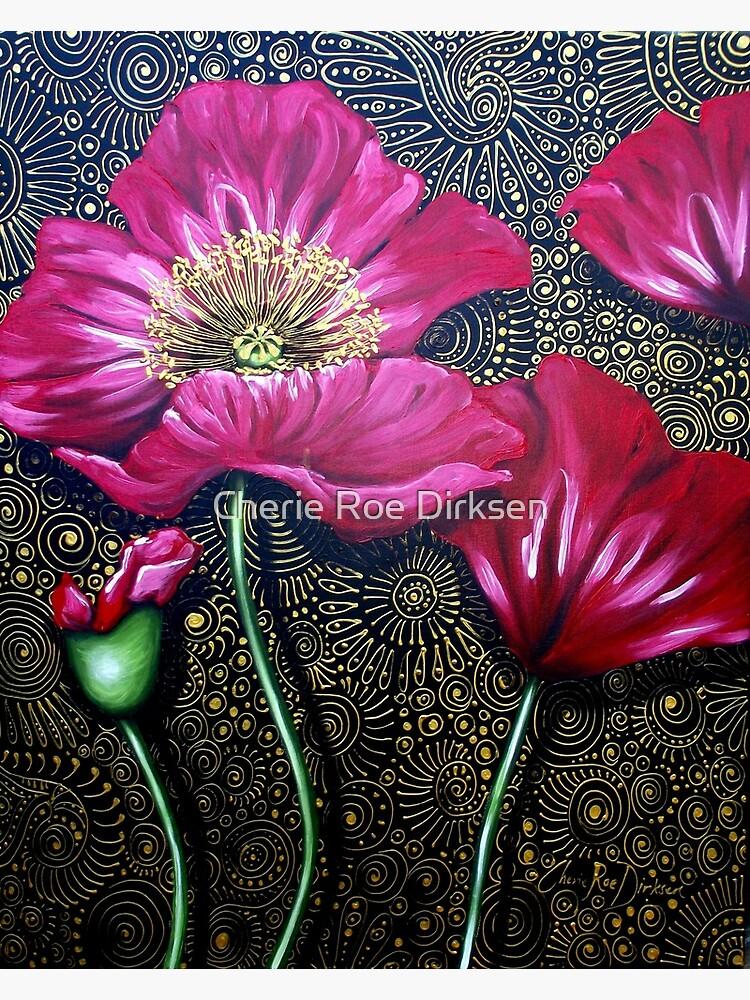 Red Poppies by cheriedirksen