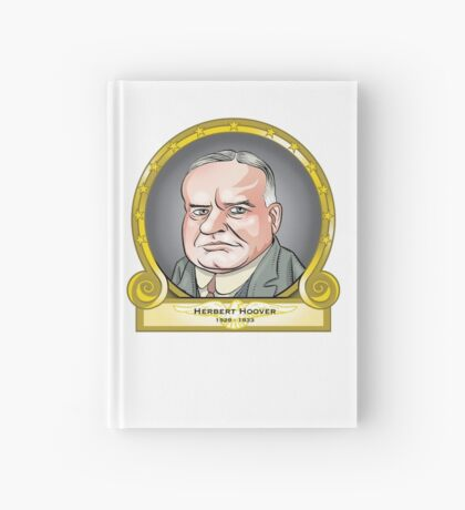President Herbert Hoover Hardcover Journal