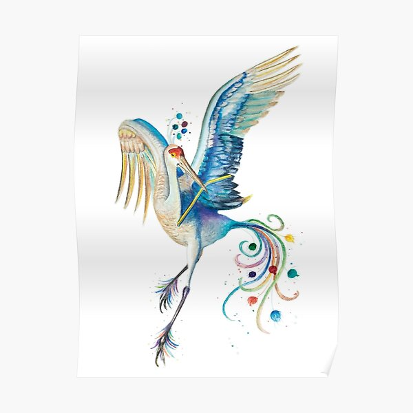 """Paradiesvogel –aus """"Der grüne Elf"""" Poster"""