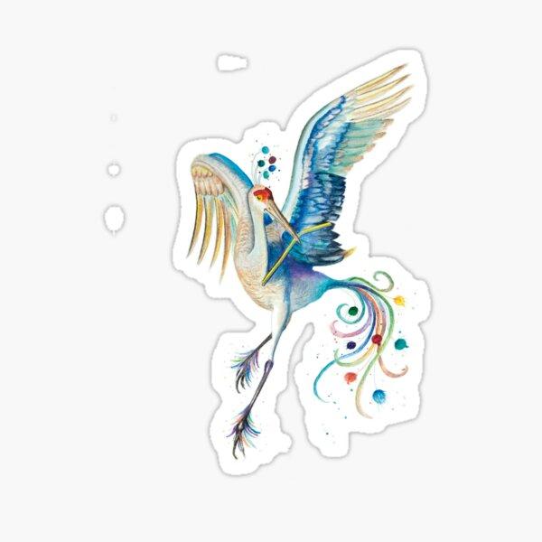 """Paradiesvogel –aus """"Der grüne Elf"""" Sticker"""