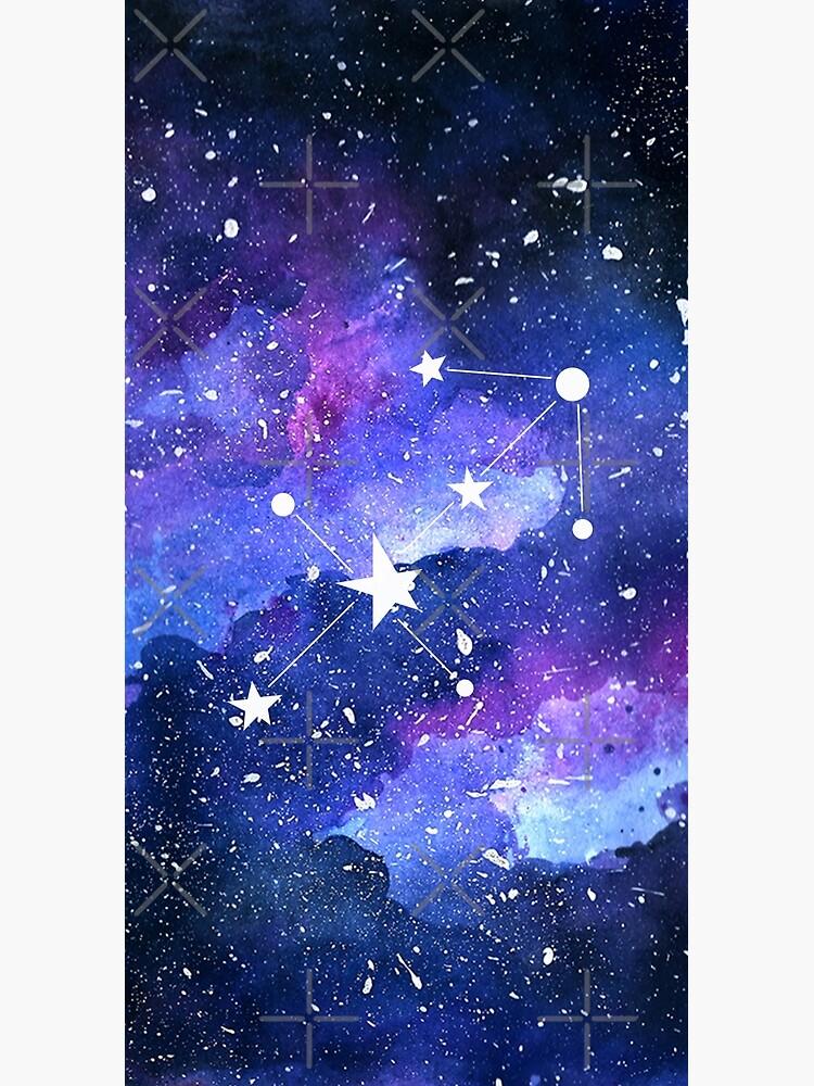 Galaxy Sagittarius Star Sign by KathrinLegg