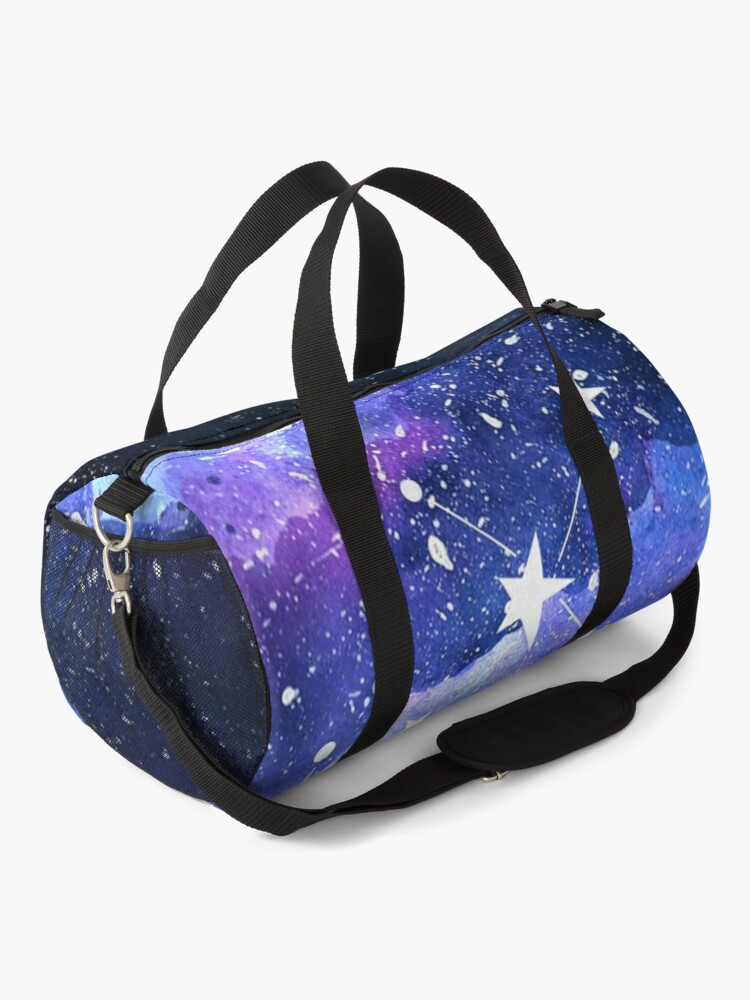 Alternate view of Galaxy Sagittarius Star Sign Duffle Bag