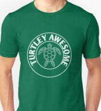 Camiseta ajustada Turtley Awesome