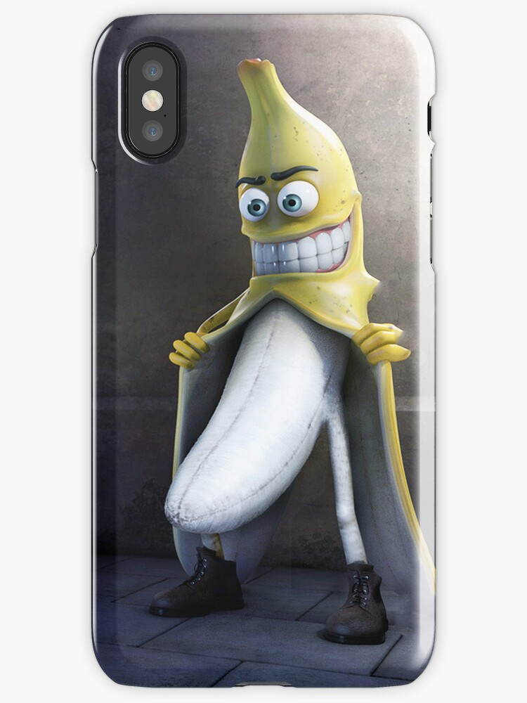 funny iphone cases quot banana quot iphone cases amp covers by 10678