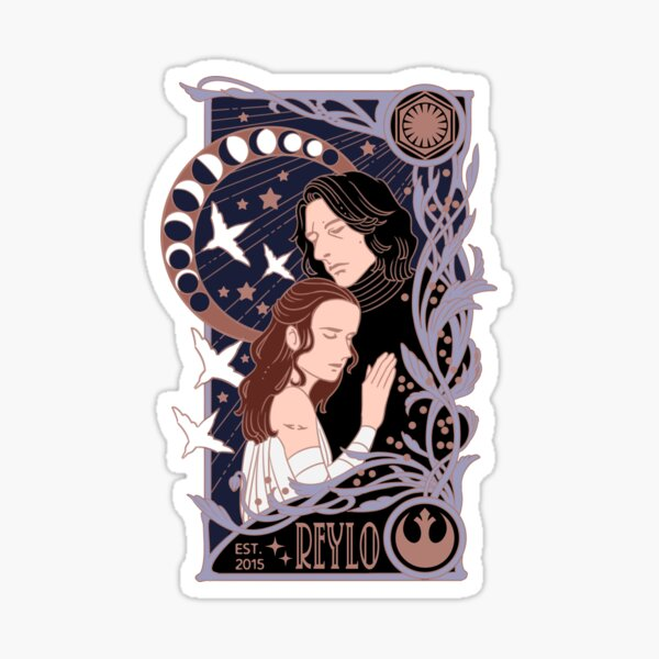 Reylo - Embrace Sticker