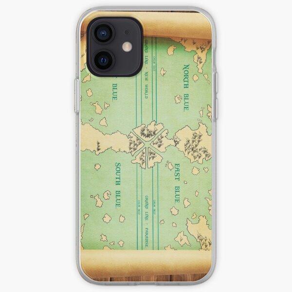 One Piece: cartographier le monde Coque souple iPhone