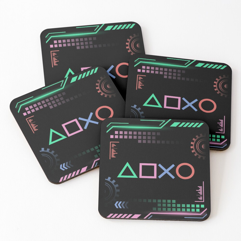 Gamer Life Coasters (Set of 4)